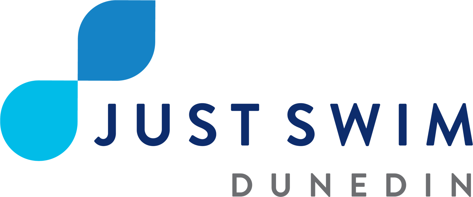 Just Swim Dunedin logo.